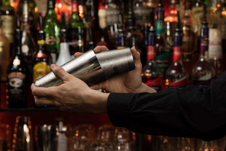 tin on tin cocktail shaker