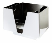 3 Part Bar Organiser <br> Chrome Plated